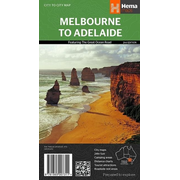 Melbourne to Adelaide 1 : 450 000