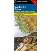 Scenic Drives USA - National Geographic Guide Map