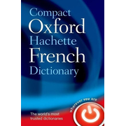 ISBN Compact Oxford-Hachette French Dictionary book 1040 pages