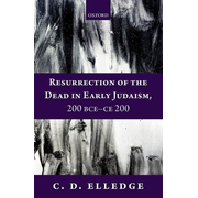 ISBN Resurrection of the Dead in Early Judaism 200 BCE-CE 200 272 pages English