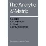 The Analytic S-Matrix