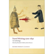 ISBN Travel Writing 1700-1830 ( An Anthology ) 560 pages English