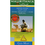 Mauritania Geographical Map 1 : 1 750 000