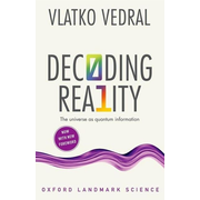 ISBN Decoding Reality ( The Universe as Quantum Information ) book English Paperback 256 pages