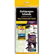 Galapagos Islands Adventure Set: Map & Naturalist Guide [With Charts]