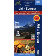 Jiri to Everest (Khumbu) 1 : 100 000