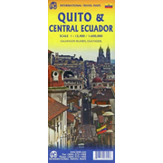 City Map Quito 1 : 12 400 / Map Central Ecuador 1 : 600 000