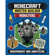 ISBN Minecraft Master Builder: Monsters book Paperback 80 pages