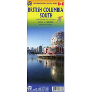 British Columbia South Map 1 : 800 000