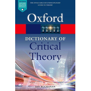 ISBN A Dictionary of Critical Theory 528 pages English