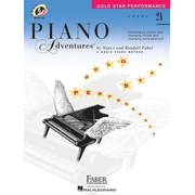 Level 2a - Gold Star Performance with Online Audio: Piano Adventures [With CD (Audio)]