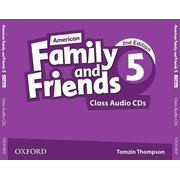 American Family and Friends 5. Class Audio CDs