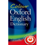 ISBN Colour Oxford English Dictionary book 848 pages