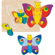 Goki 57899 Shape puzzle 11 pc(s)