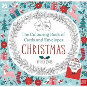National Trust: The Colouring Book of Cards and Envelopes - Christmas
