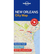 Lonely Planet: Lonely Planet New Orleans City Map