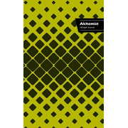Alchemist Lifestyle Journal, Write-in Notebook, Dotted Lines, Wide Ruled, Medium Size 6 x 9 Inch (A5) Hardcover (Beige)