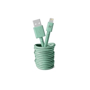 Fresh 'n Rebel 2ULC300MM mobile phone cable Green 3 m USB A Lightning