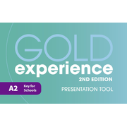 Gold Experience 2nd Edition A2 Teacher's Presentation Tool USB, CD-ROM
