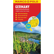 Germany Marco Polo Map