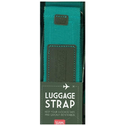 Legami TURQUOISE AND BROWN LUGGAGE STRAP