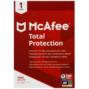 McAfee Total Protection 1 Gerät 2021 (Code in a Box). Windows/MAC/Android/iOs