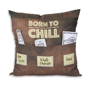Sofahelden Kissen - Born to chill