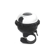 2 in 1 Bike Bell and Light Black