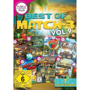 Best of Match3. Vol.9, 1 DVD-ROM - 7 Vollversionen