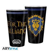 ABYstyle - World Of Warcraft Alliance Xl-Glas- 400 ml
