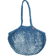 Cotton Mesh Bag - Blue