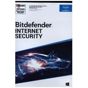 Bitdefender Internet Security, 10 Geräte, 18 Monate, Code in a Box