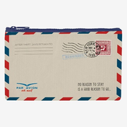Legami Zipper Pouch Funky Collection - Air Mail