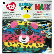 Ty Dotty Leopard Face Mask