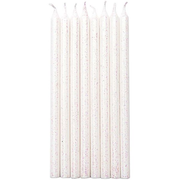 Rico Design 81004.01.01 wax candle Cylinder White 16 pc(s)
