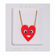 Hearts with Eyes Necklace