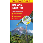 Malaysia and Indonesia Marco Polo Map