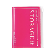 Passport Case STORAGE.it, Neon Pink