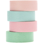 Rico Design 99001.21.28 craft tape 5 m Blue, Green, Lilac, Pink