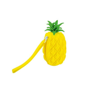 Silicone Coin Purse - Pineapple