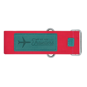 Legami MAGENTA AND TURQUOISE LUGGAGE STRAP