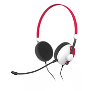 SPEEDLINK SL-320300-RD headphones/headset Head-band 3.5 mm connector Black, Red, White