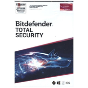 Bitdefender Total Security 2021 5 Geräte / 18 Monate, Code in a Box