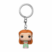 Funko Pocket POP! Vinyl: Harry Potter Schlüsselanhänger Ginny (Yule) 4 cm