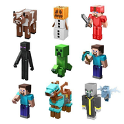 Minecraft Comic Maker Actionfiguren Sortiment