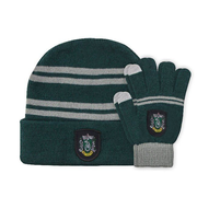Harry Potter Kids Beanie & Handschuhe Set Slytherin
