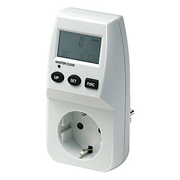 Brennenstuhl 1506240 electric meter Electronic Domestic White