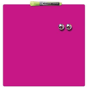 Rexel Magnetic Square Tile 360x360mm Pink