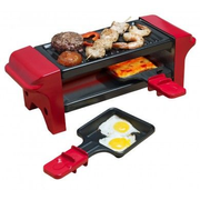 Bestron AGR102 raclette grill Black, Red