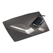 Durable Artwork desk mat with transparent overlay